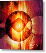 Shockwave Metal Print