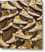 Shoe Art Metal Print