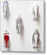 Shoe Fashion Metal Print