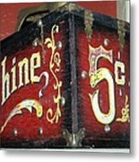 Shoe Shine Kit Metal Print