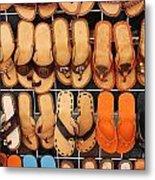 Shoes Shoes Everywhere Playa Del Carmen Mexico Metal Print