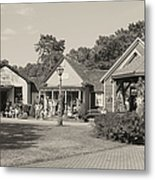 Shopping In Smithville Metal Print
