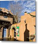 Shops At Santa Fe New Mexico Metal Print
