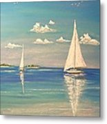 The Cays Metal Print
