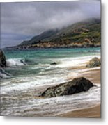 Shores Of Big Sur Metal Print by Shawn Everhart