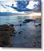Shorncliffe Foreshore  Metal Print