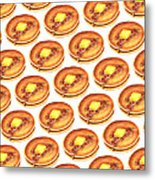 Short Stack Pattern Metal Print