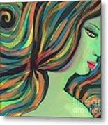 Show Me The Colors Metal Print by Hilda Lechuga
