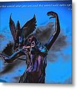 Show The World Metal Print by Michelle Ressler