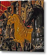 Showcase Of Royal Horses Metal Print