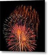 Shower Of Fireworks Metal Print