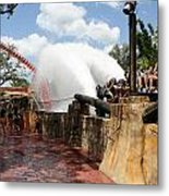 Shower Time Metal Print