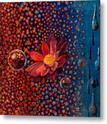 Showers To Flowers Metal Print