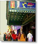 Showtime Toronto's Broadway Monty Python Spamalot Theatre District The Plays The Thing City Scenes Metal Print