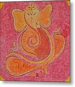 Shree Ganesh Metal Print