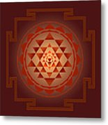 Shree Yantra Metal Print