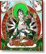 Shri Ashtabhuja Mata Metal Print