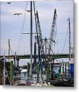 Shrimp Boats At Lazaretto Creek Metal Print