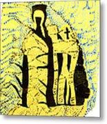 Shroud Of Jesus Metal Print