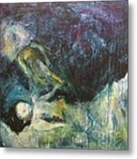 Shrouded In Brokenness Metal Print