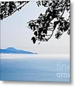 Shrouded In Clouds Metal Print