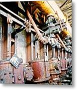 Shutdown Old Coking Plant Metal Print