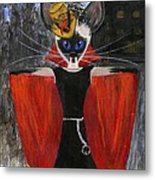 Siamese Queen Of Transylvania Metal Print by Jamie Frier