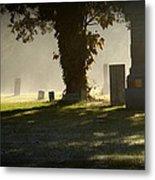 Sibley Cemetery Metal Print
