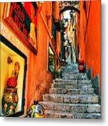 Sicilian Steps Metal Print