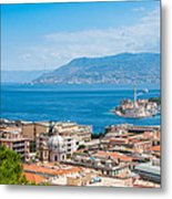 Sicily And Italy Metal Print