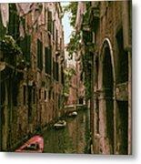 Side Canal Metal Print