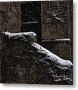 Side Door Metal Print by Jasna Buncic