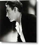 John Barrymore in Profile Metal Print