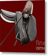 Sidesaddle And Crop Metal Print by Linsey Williams