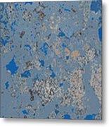 Sidewalk Abstract-17 Metal Print