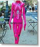 Sidewalk Catwalk 17 Metal Print