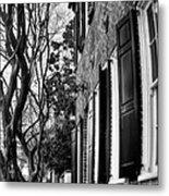 Sidewalk Scene-charleston Metal Print