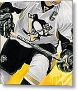 Sidney Crosby Artwork Metal Print