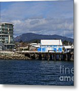 Sidney Harbour On Vancouver Island Metal Print