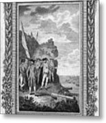 Siege Of Gibraltar, 1782 Metal Print