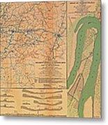 Siege Of Vicksburg 1863 Metal Print