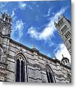 Siena Duomo Metal Print
