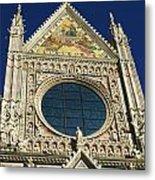 Sienna Cathedral Metal Print