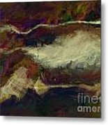 Sienna Cotton Fields  Metal Print