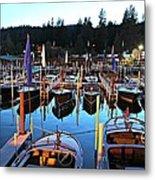 Sierra Boat Company Metal Print