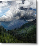 Sierra Nevada Lighting Strike Metal Print