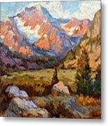 Sierra Nevada Mountains Metal Print