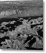Sierra Nevada Shadows Metal Print