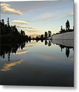 Sierra Reflection II Metal Print