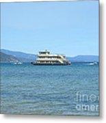 Sierra Rose Yacht On Lake Tahoe Metal Print